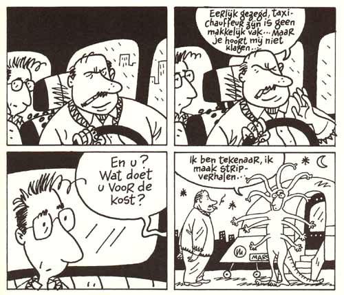 Dupuy Berbérian Dagboek van een strip